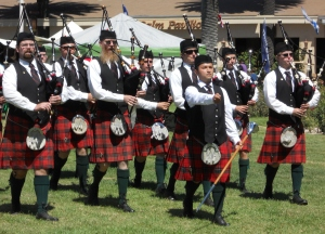 Nicholson pipe and drum band