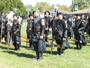 Scottish highland guards